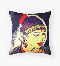 Kaizer | The Sound Of India Throw Pillow