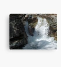 Gorge Water Fall 11 Canvas Print