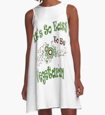 veganism I A-Line Dress
