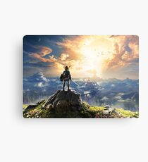Legend of Zelda : Breath of the Wild artwork Metal Print