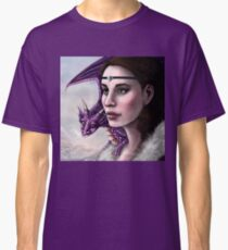 The Witch And Her Dragon Classic T-Shirt