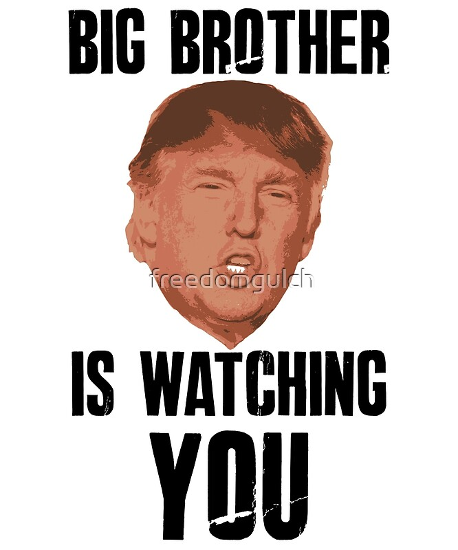 Big Brother Trump By Freedomgulch Redbubble