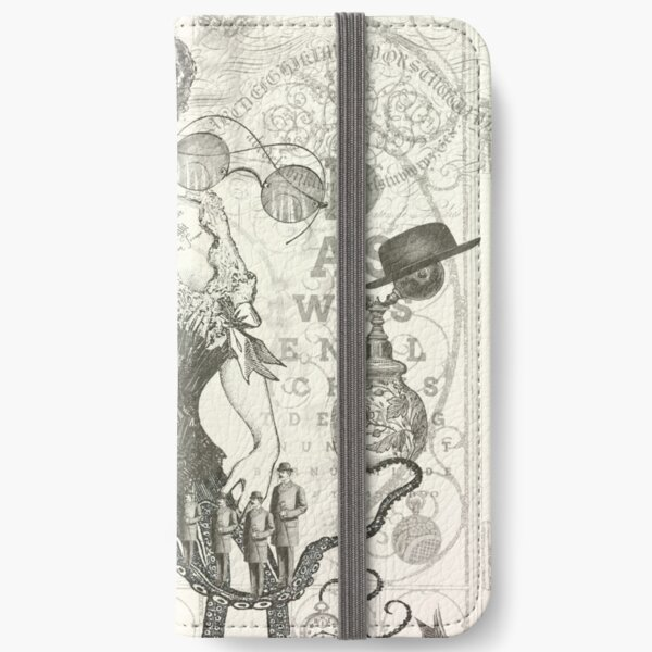 The Heart in the Eye of Time iPhone Flip-Case