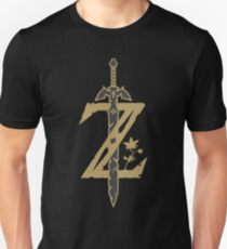 Zelda Breath of the Wild (Black) T-Shirt