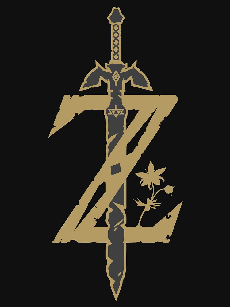 Zelda Breath of the Wild (Black) | Unisex T-Shirt