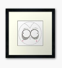 Silly Pete Framed Print