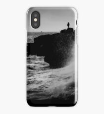 French Atlantic Coast - Storm iPhone Case/Skin