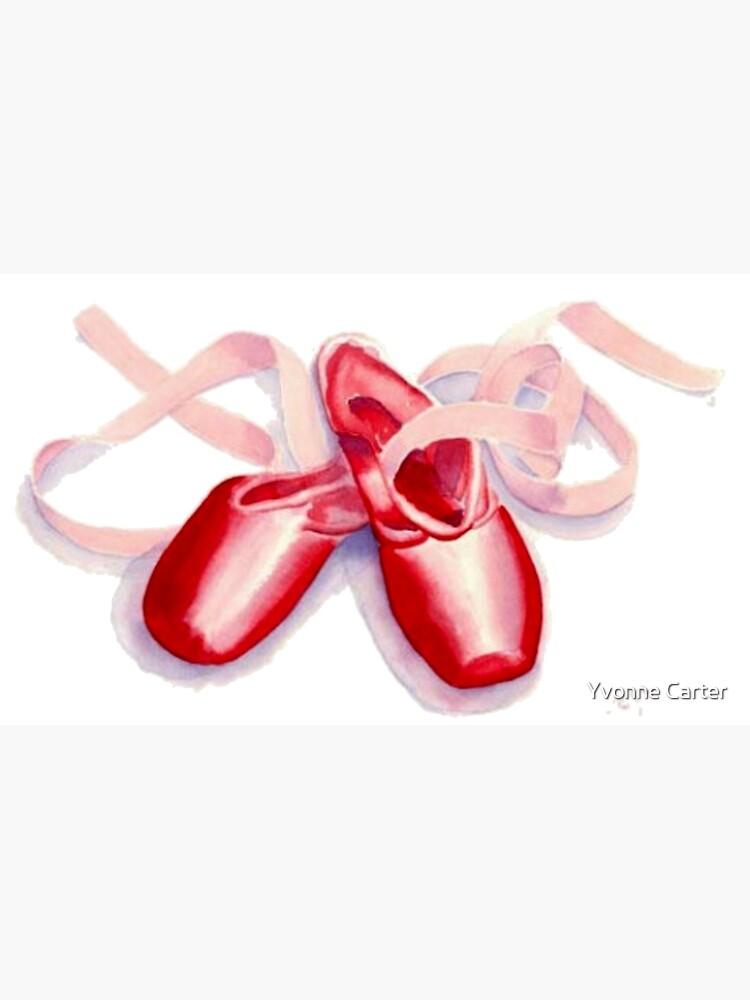 Toeshoes rojos de Skosty75