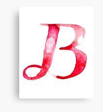 Alphabet B Canvas Print