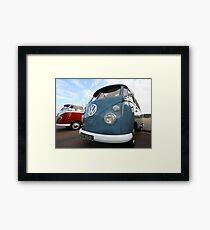 Fine VW Split Screen Framed Print