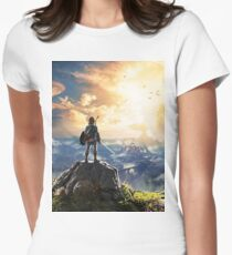 Legend of Zelda : Breath of the Wild Art Womens Fitted T-Shirt