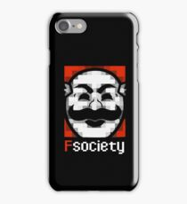 F Society iPhone Case/Skin
