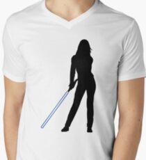 Jedi-Bride Mens V-Neck T-Shirt