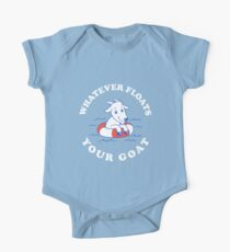 Whatever Floats Your Goat Kids Clothes