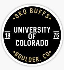 University of Colorado - Style 25 Sticker