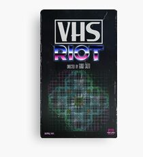 VHS Riot Cover Canvas Print