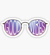 Pegatina Good Vibes Sunglasses