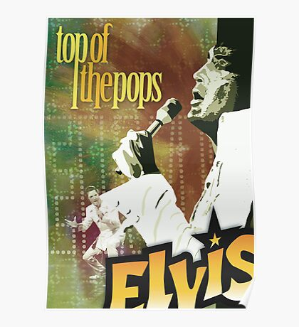 Top of the Pops: Elvis Presley Poster