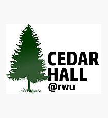 RWU Cedar Hall Photographic Print
