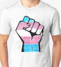 Trans Resist Fist Slim Fit T-Shirt