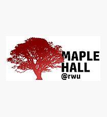 RWU Maple Hall Photographic Print