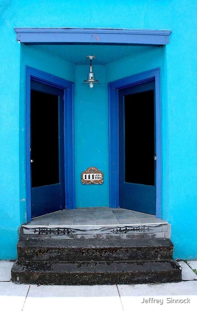 Double doors by Jeffrey  Sinnock