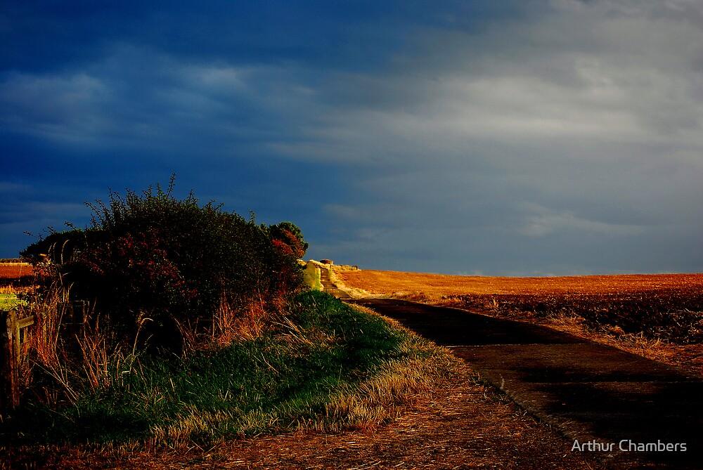 Yellow brick road.. by Arthur Chambers