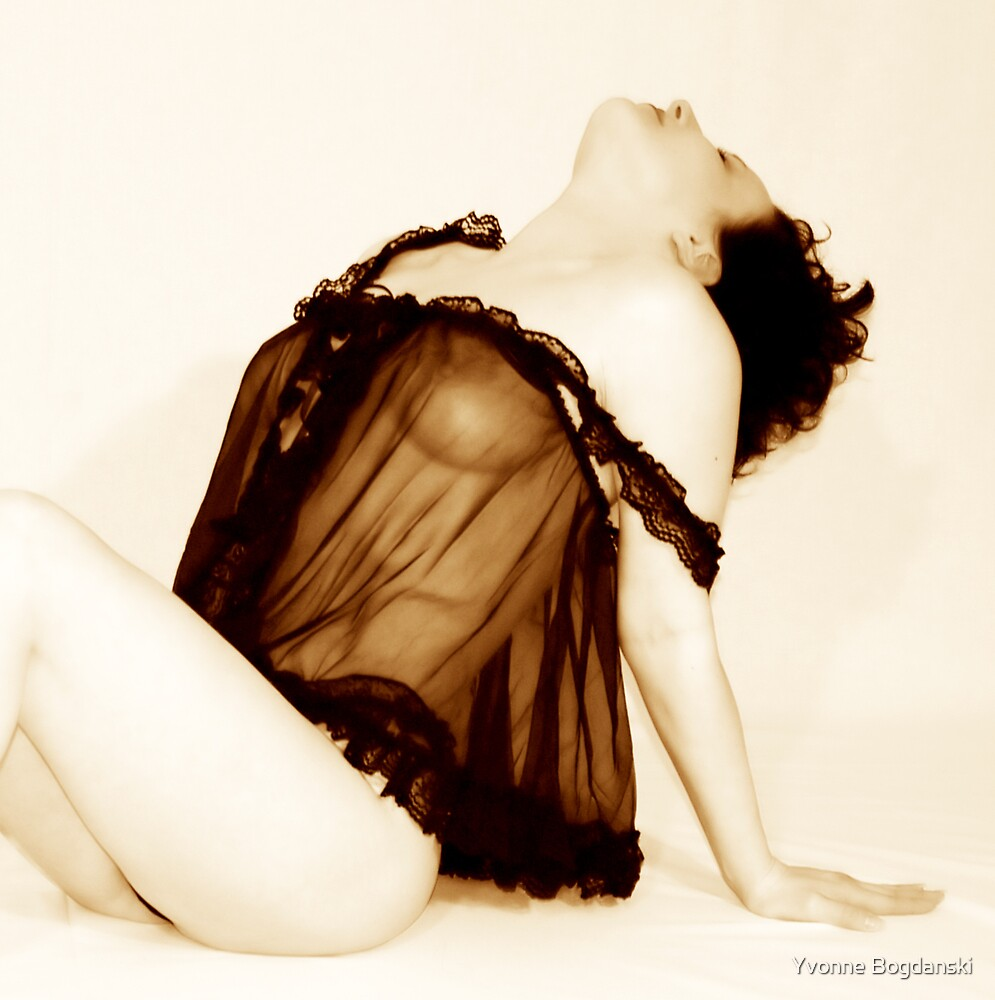 The Model by Yvonne Bogdanski