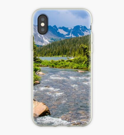 Long Lake and The Continental Divide iPhone Case