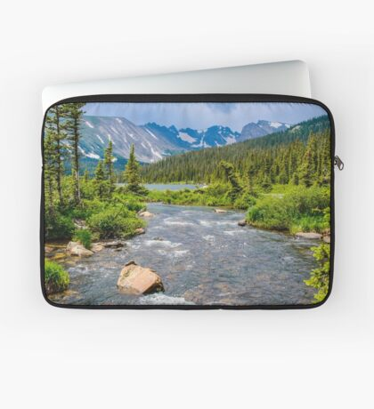 Long Lake and The Continental Divide Laptop Sleeve