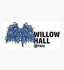RWU Willow Hall Photographic Print
