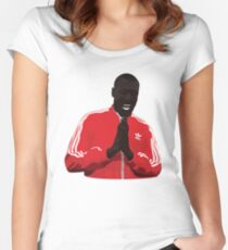 Stormzy vector Women's Fitted Scoop T-Shirt