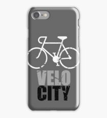 VeloCity Version 4 Extra Urban Cycle iPhone Case/Skin