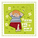 Dolce Far Niente Delightful Idleness by Sonia Pascual