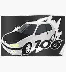 Peugeot 106 Poster