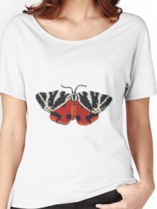 Jersey Tiger Moth - Knitted Women's Relaxed Fit T-Shirt