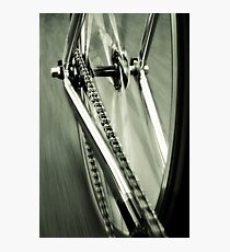 Single Speed at Speed Photographic Print