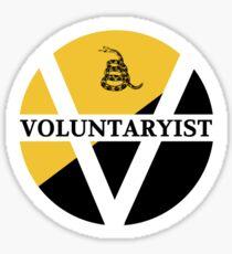 Voluntaryism Sticker