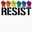 LGBTQ Rainbow Resist by queeradise