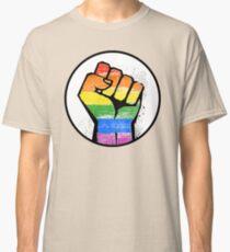 LGBTQ Resistance Fist Classic T-Shirt