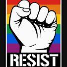 LGBT RESIST FIST by queeradise