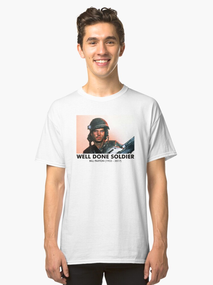 Well Done Soldier Classic T-Shirt Front