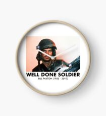 Well Done Soldier Clock