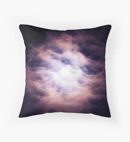 Last Night's Moon  Throw Pillow