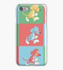 cartoony dogs iPhone Case/Skin