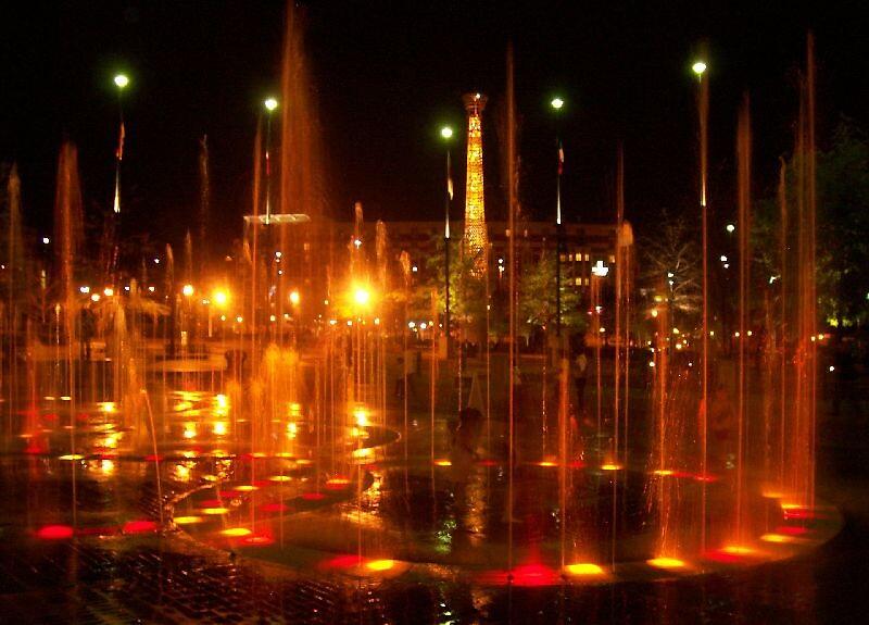Olympic Centennial Park, Atlanta Ga by MorningStar