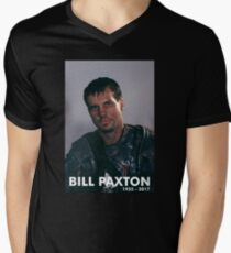 Bill Paxton as Private Hudson Men's V-Neck T-Shirt