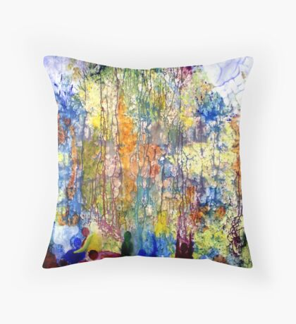 Intercessory Prayer Throw Pillow