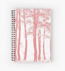 Birch Trees Spiral Notebook