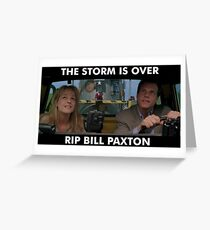 RIP Storm Chaser Greeting Card
